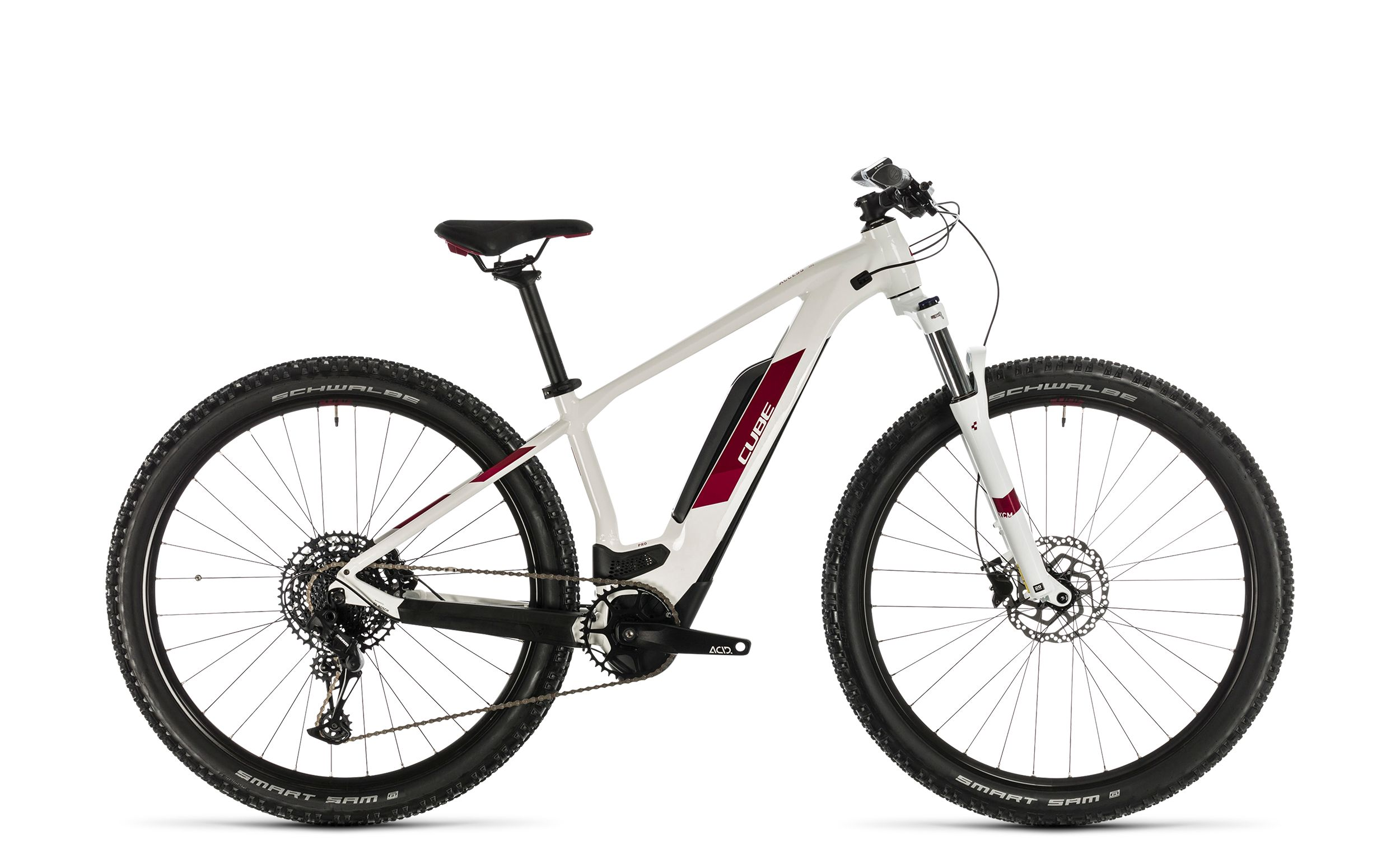 Cube Access Hybrid Pro 500 white´n´berry - 2020