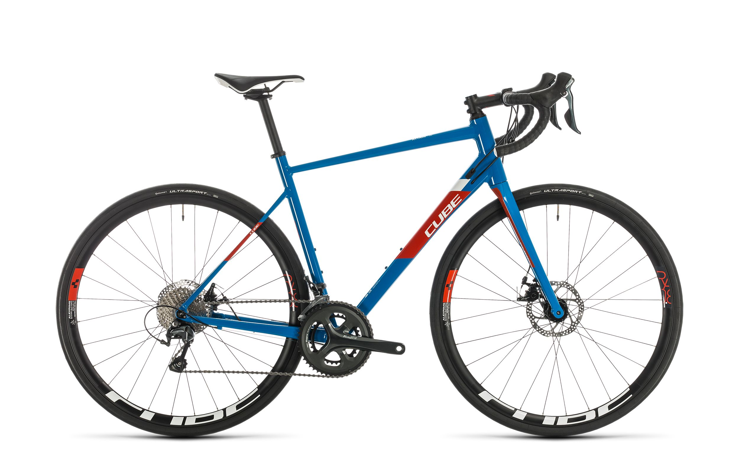 Cube Attain Race blue´n´red - 2020